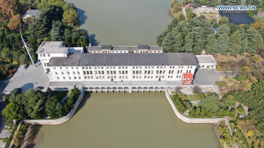 Jiangdu Key Water Conservancy Project in Yangzhou