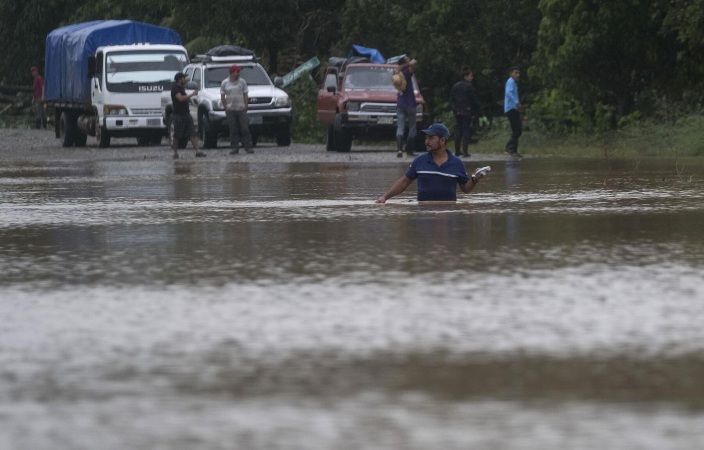 Iota threatens second tropical hit for Nicaragua, Honduras