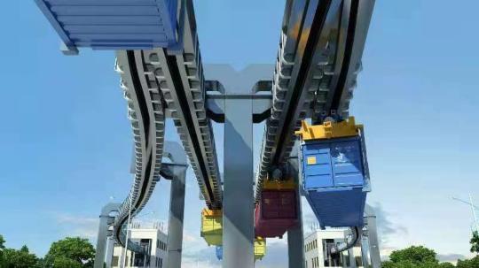 Qingdao Port building world-first smart transport system