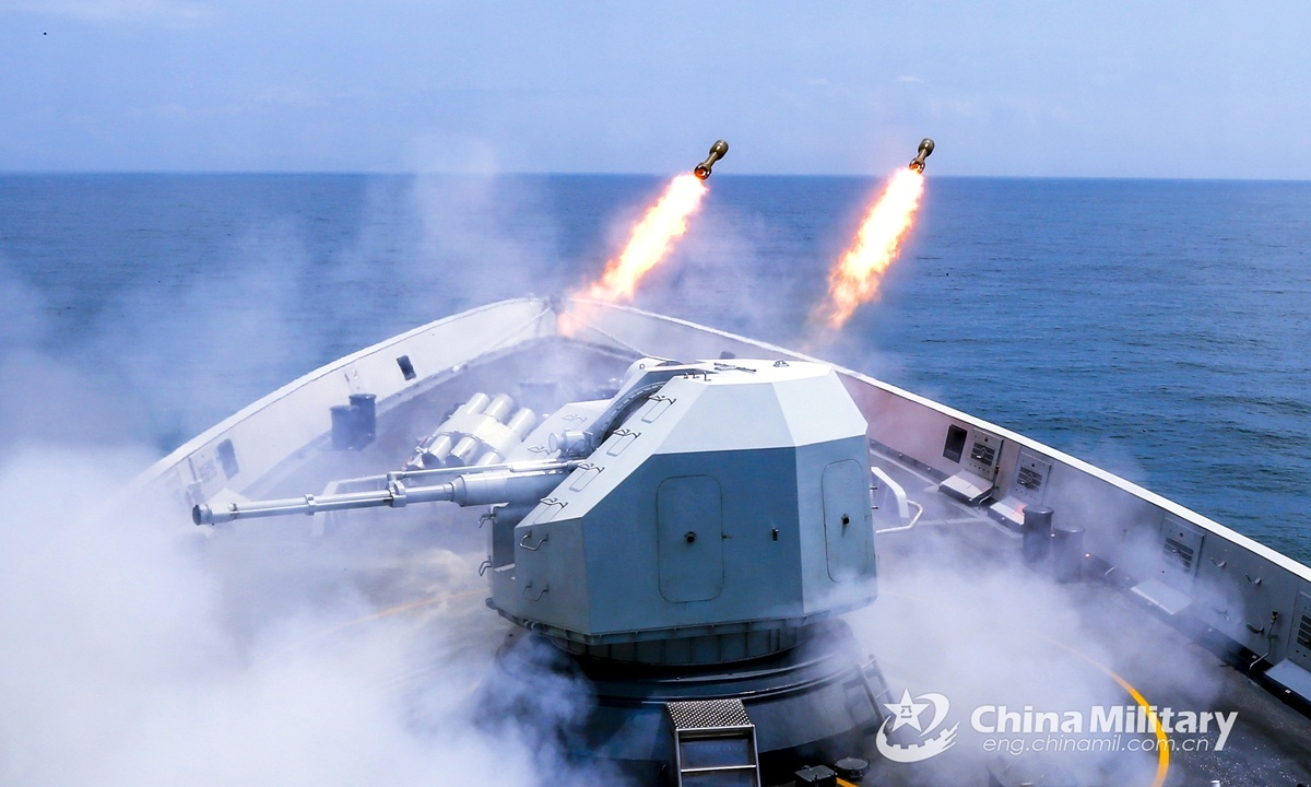 Joint PLA combat exercises to be normalized amid intensifying situation in Taiwan Straits and South China Sea: expert