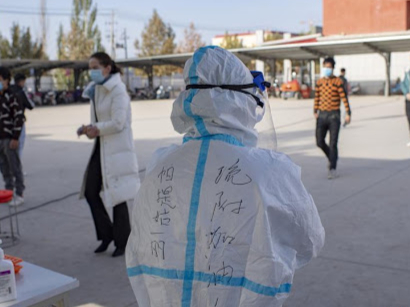 China's Xinjiang reports no new COVID-19 cases