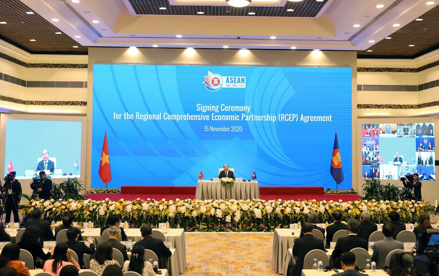 RCEP free trade deal signed among 15 participation countries
