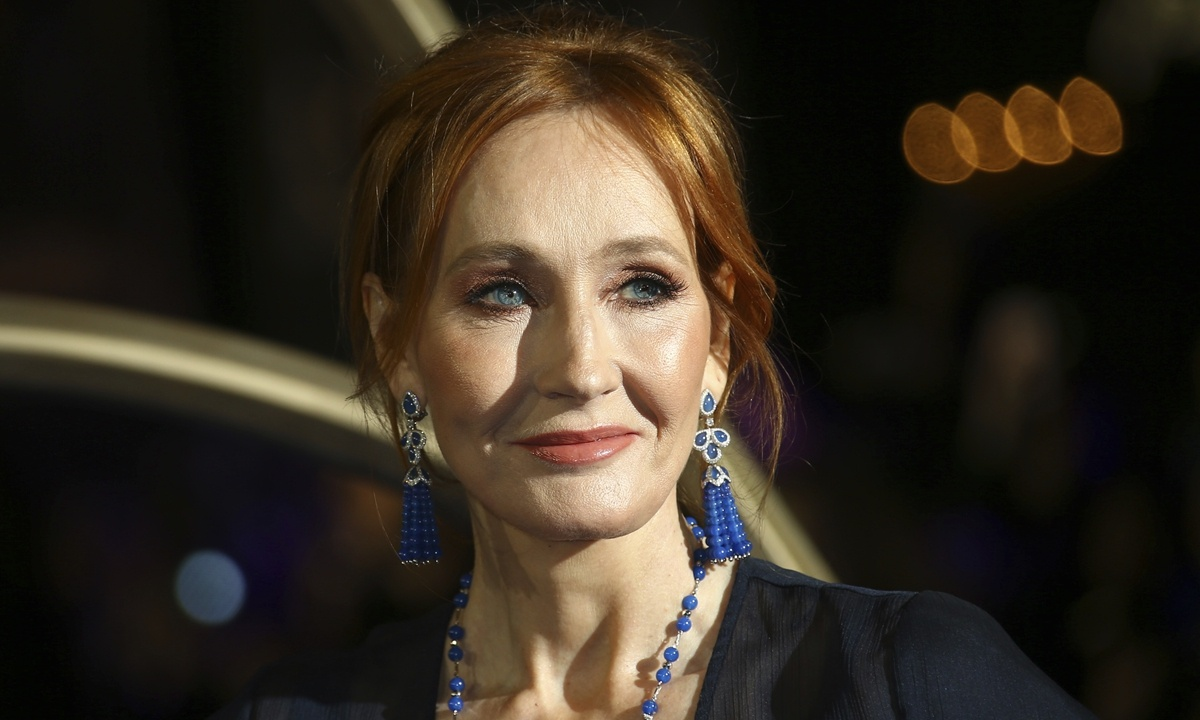 New book by 'Harry Potter' creator J.K. Rowling launches in China