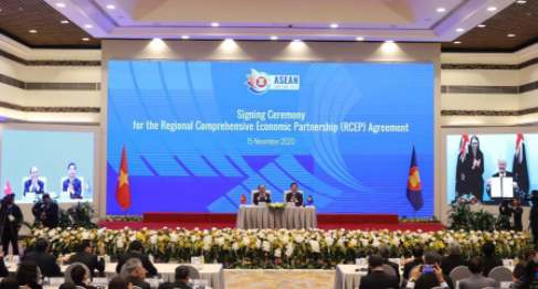 CCCEU: Signing RCEP is 'uplifting' amid global recession