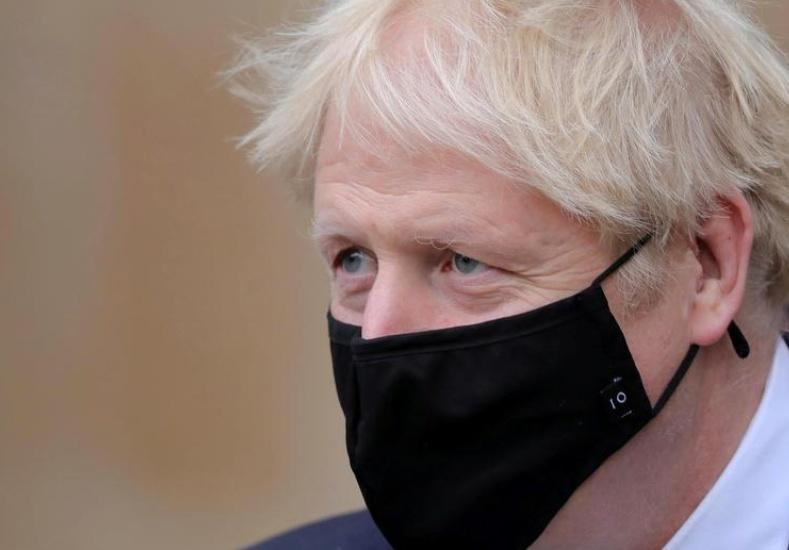 Britain's Johnson in self-isolation; has no virus symptoms