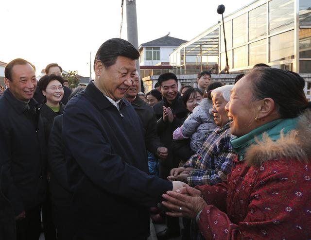 The story of Xi and Jiangsu province