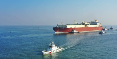 Sinopec unloads world's biggest liquified natural gas carrier