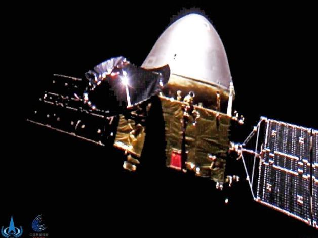 China's Mars probe travels over 300 million km