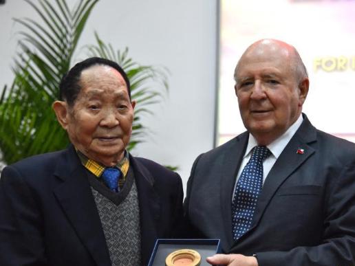 Chile honors hybrid rice pioneer Yuan Longping