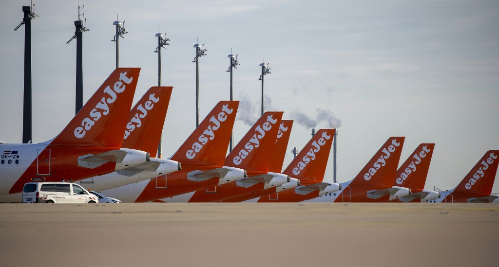 UK airline EasyJet posts first annual loss on virus