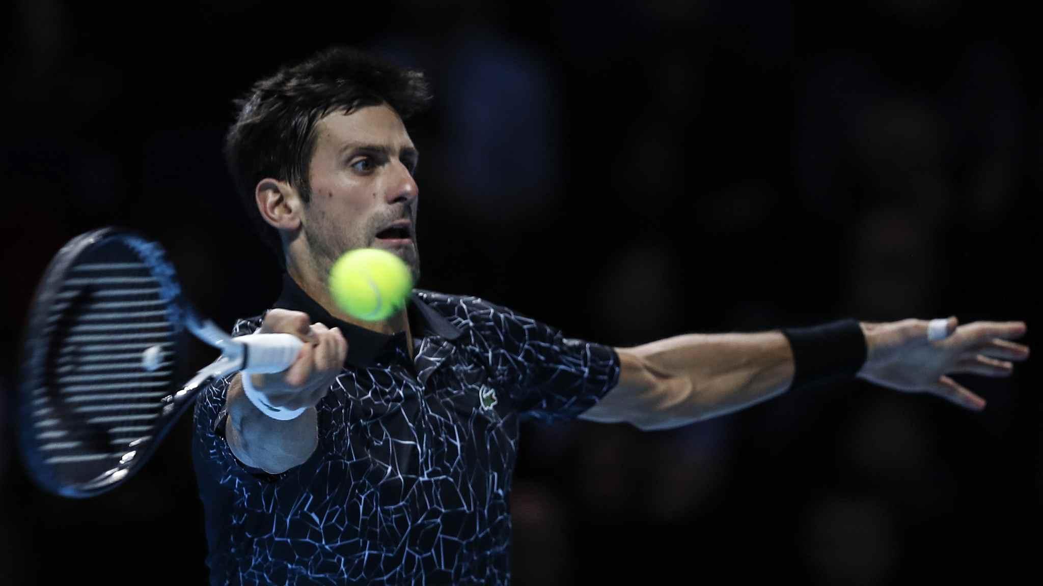 Djokovic outplays debutant Schwartzman at ATP Finals