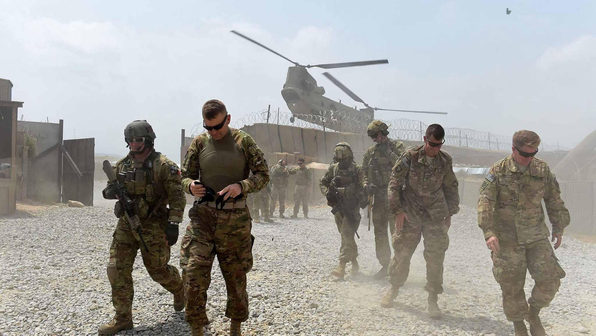 Trump to order further drawdown from Afghanistan, Iraq: media