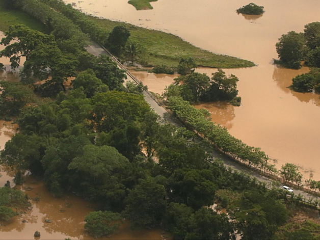 Hurricane Iota, maximum Cat 5 strength, makes landfall in Nicaragua
