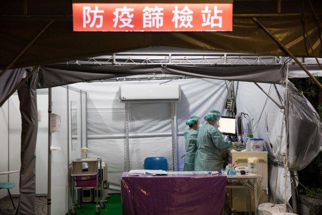 COVID-19 epidemic intensifies in Taiwan