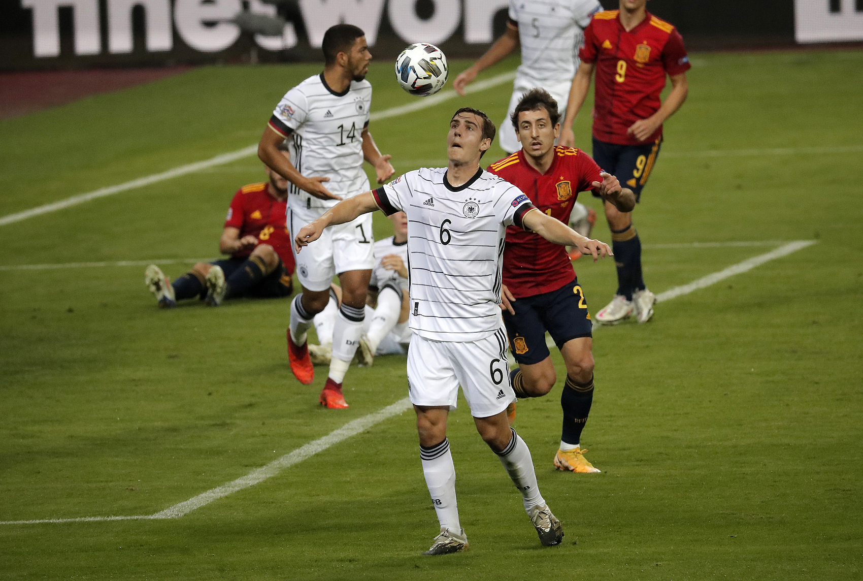 Spain thrash Germany to qualify for Nations League semifinals