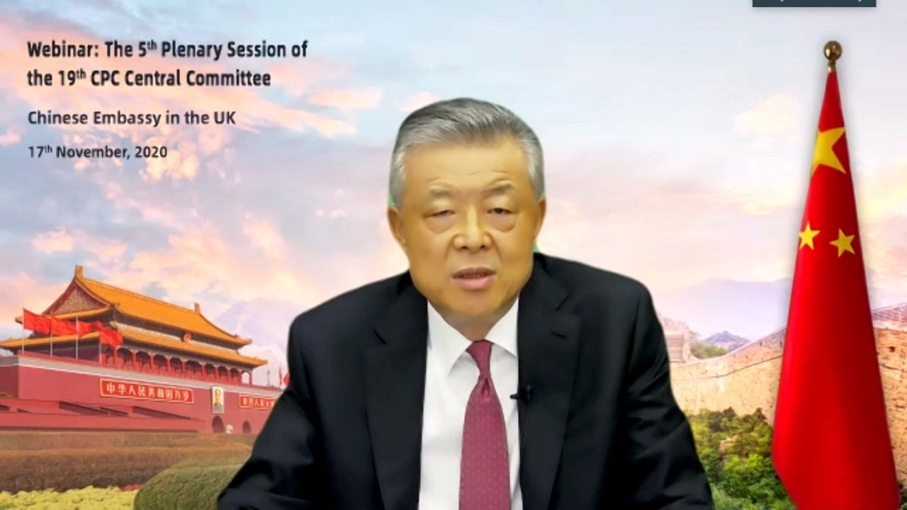 Ambassador Liu Xiaoming: China hopes UK remains 'non-discriminatory' to business