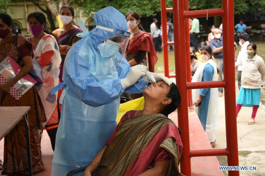 College reopens amid COVID-19 pandemic in Bangalore, India