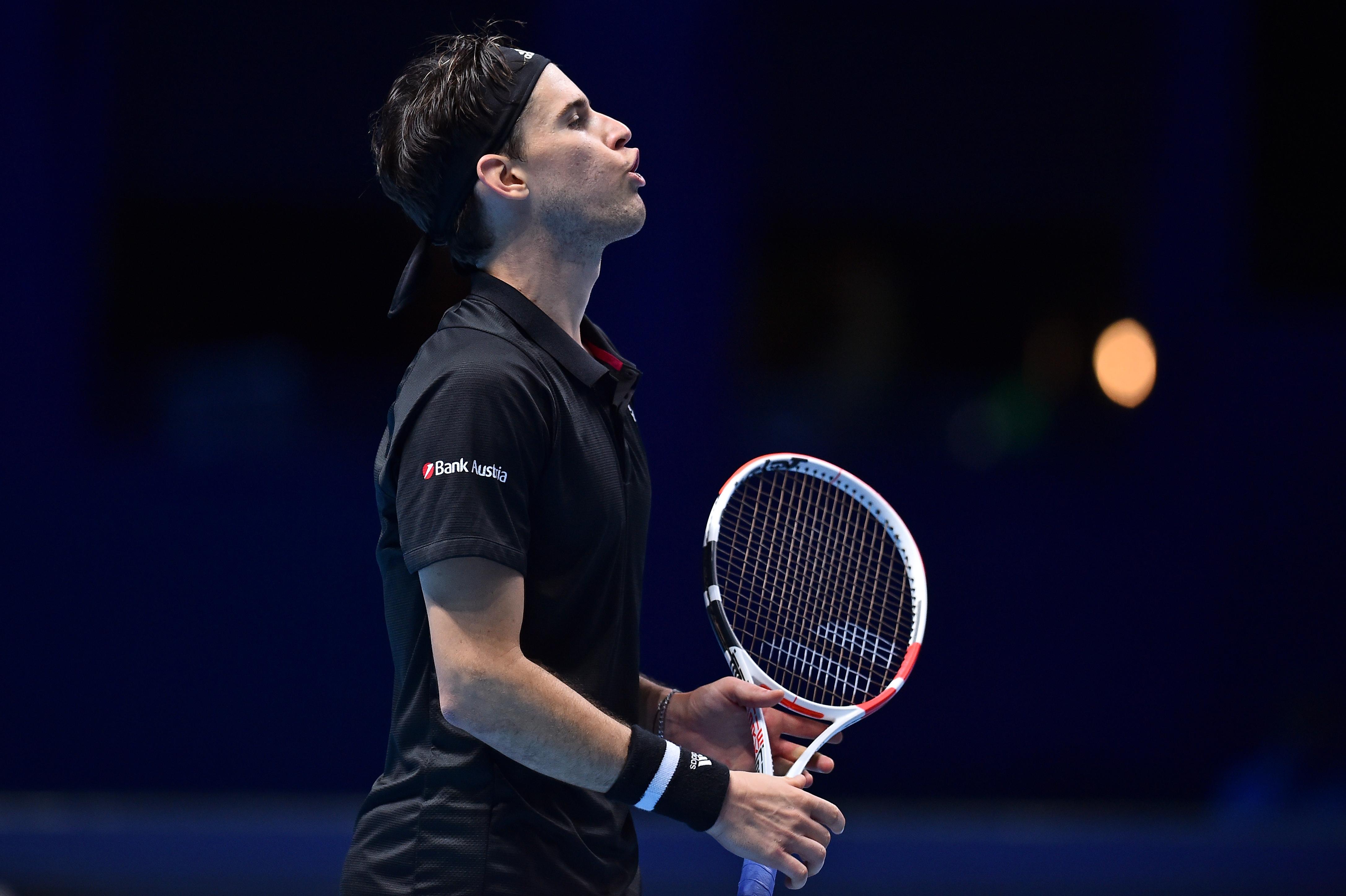 Thiem edges Nadal at ATP Finals