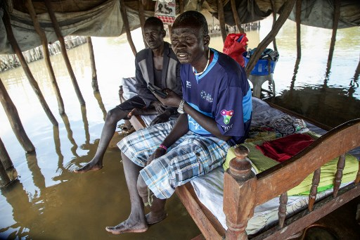 UN says over 1 mln people affected by floods in South Sudan