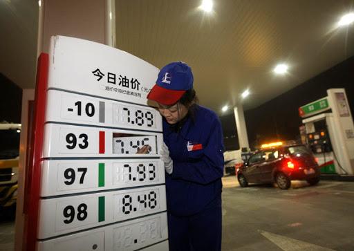 China to raise gasoline, diesel retail prices