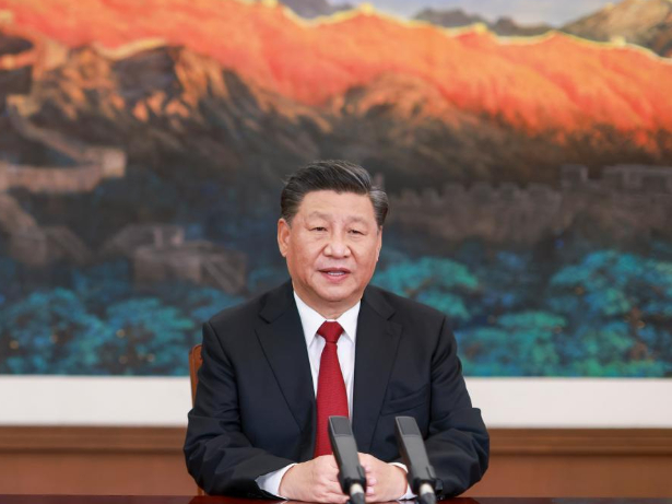 Xi delivers keynote speech at APEC CEO Dialogues