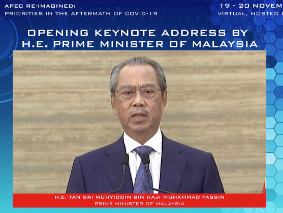 Malaysian PM: APEC to continue promoting multilateral trade