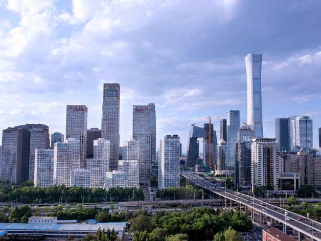 Beijing's foreign trade decline narrows