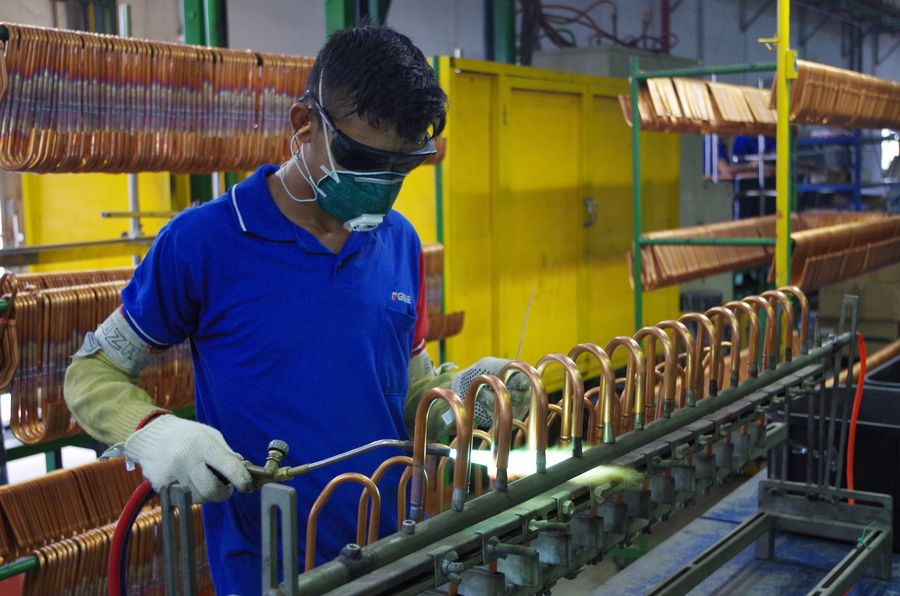 Brazil's industrial output up for 5th month in a row
