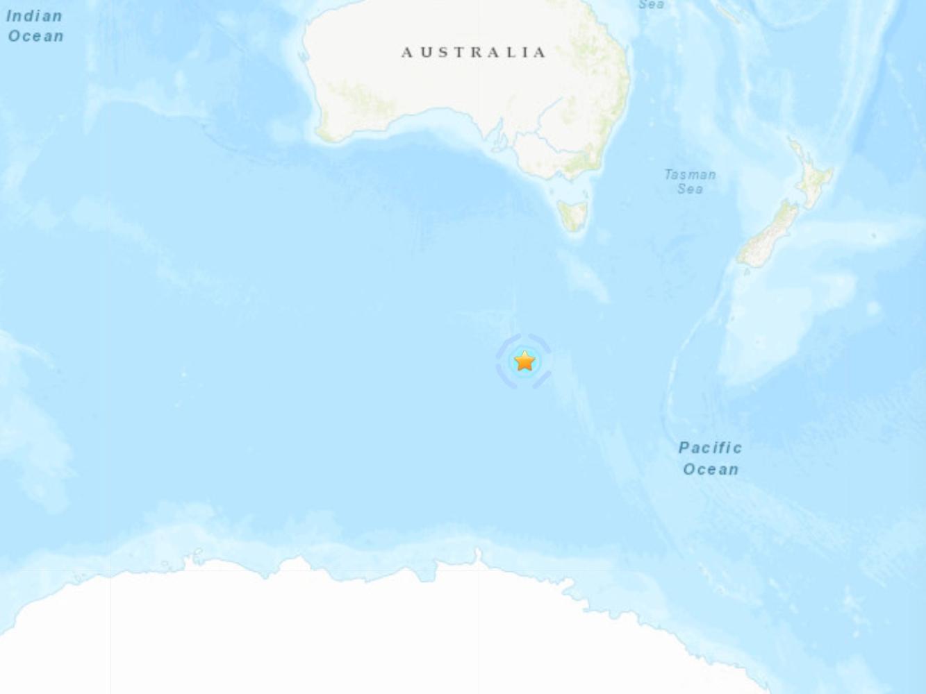5.5-magnitude quake hits west of Macquarie Island -- USGS