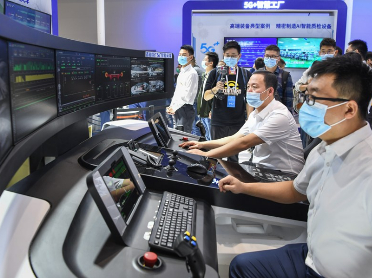 Xi sends congratulatory letter to China 5G + Industrial Internet Conference