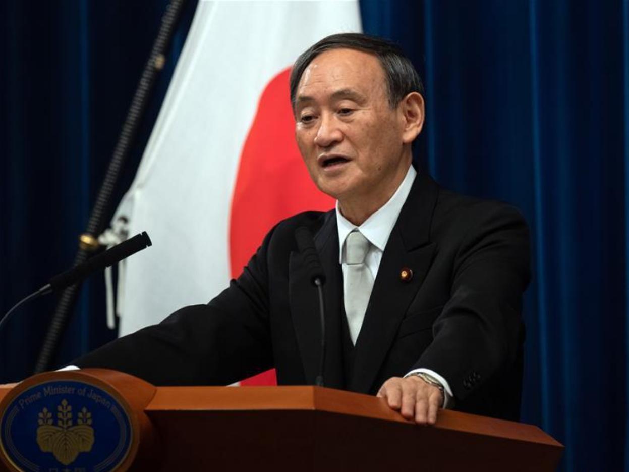 Japanese PM Suga aims for digital transformation, green society