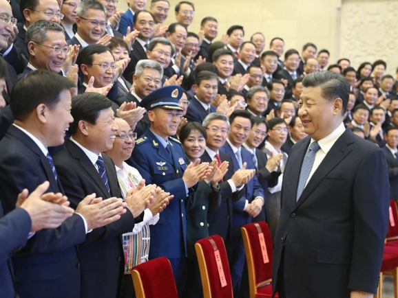 Xi meets with cultural-ethical role models
