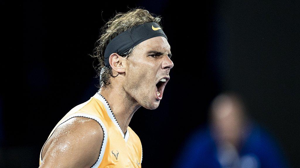 Nadal reaches semifinals at ATP Finals after beating Tsitsipas
