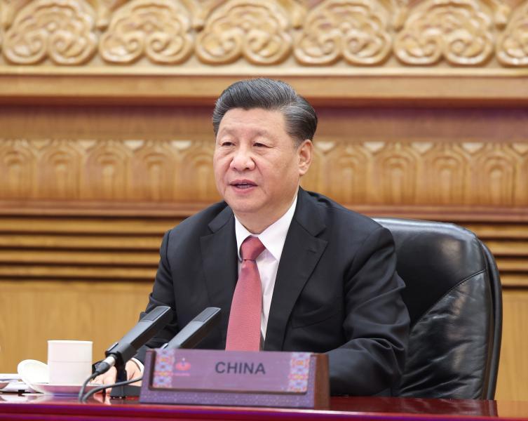Xi addresses APEC Economic Leaders' Meeting