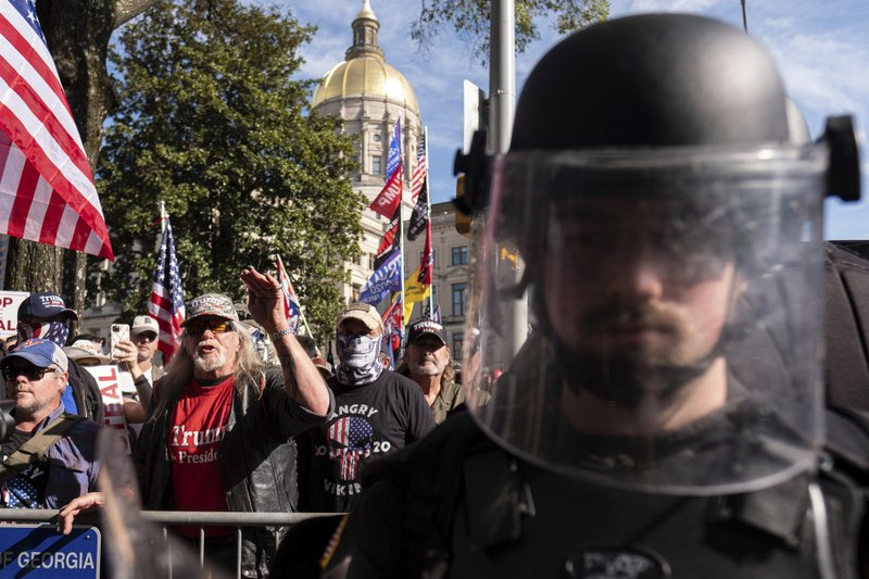Trump team requests recount of Georgia's presidential race