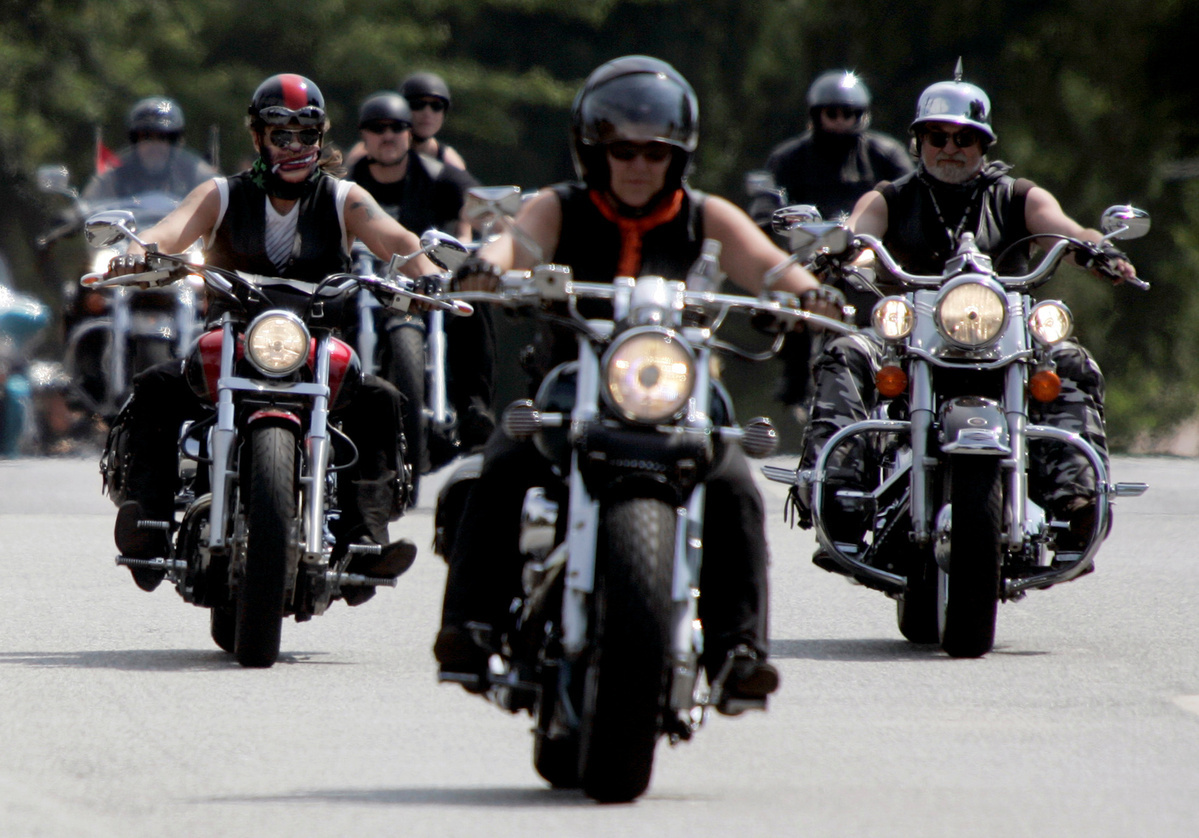 Harley owners feel cheated, protest against US company's exit from India