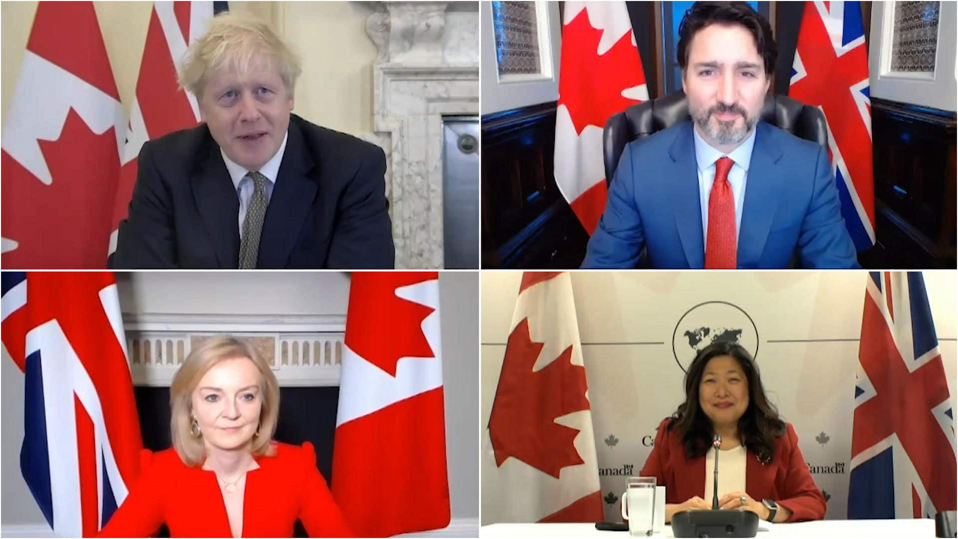 Canada, Britain strike interim post-Brexit trade deal