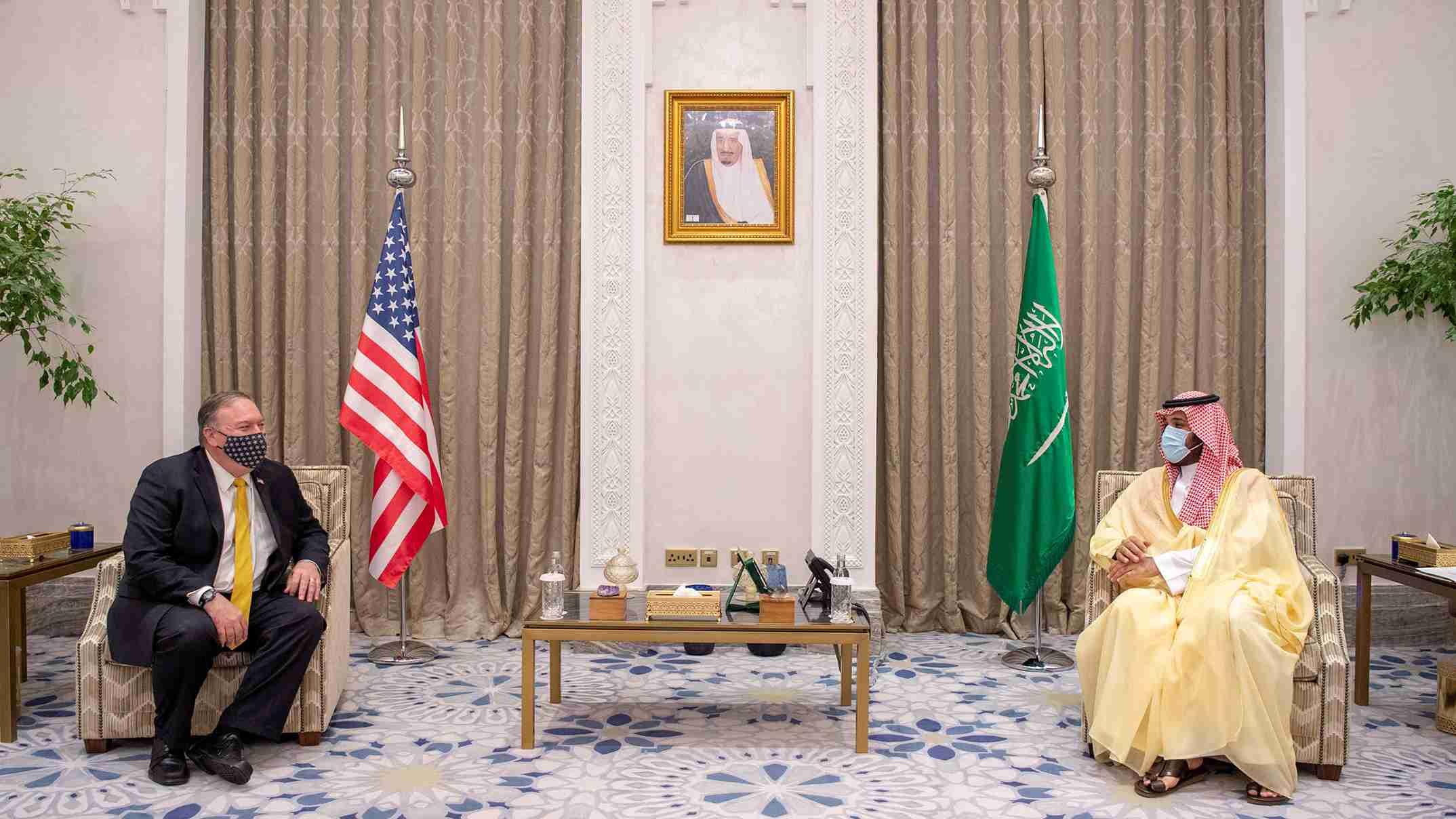 Netanyahu meets Saudi crown prince, US secretary of state in Saudi Arabia: Israeli media