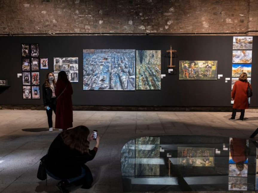 Feature: Young Turkish artists feature COVID-19 pandemic impacts on artworks