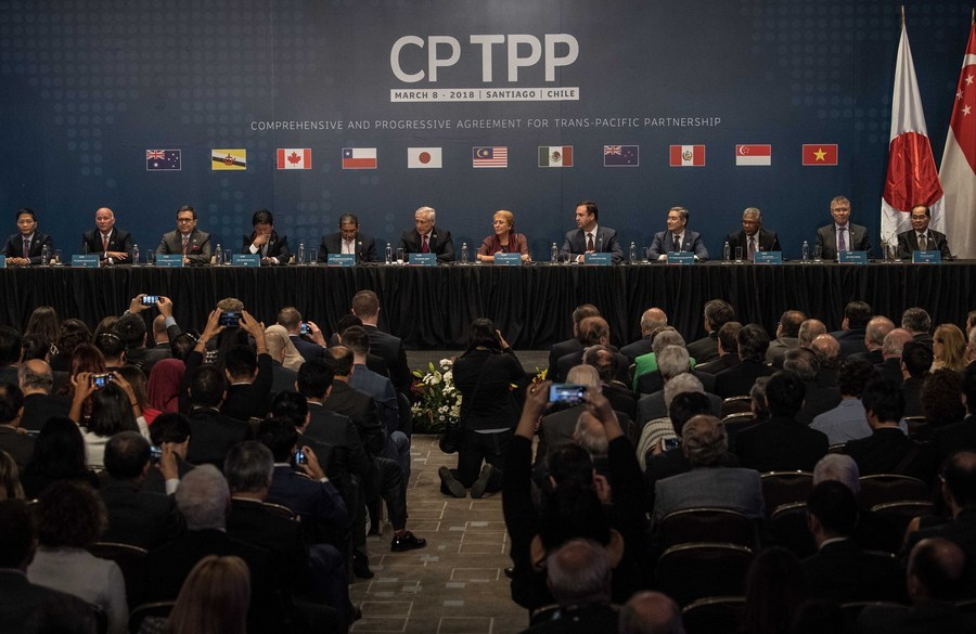China joining CPTPP would boost Asia-Pacific economic integration