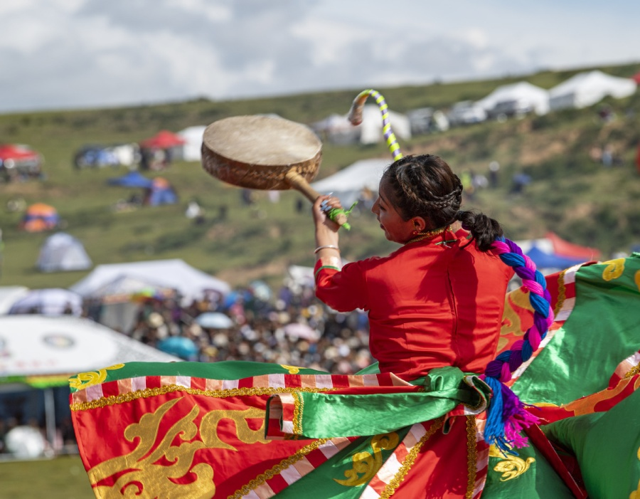 A traditional Tibetan dance makes moves through the ages