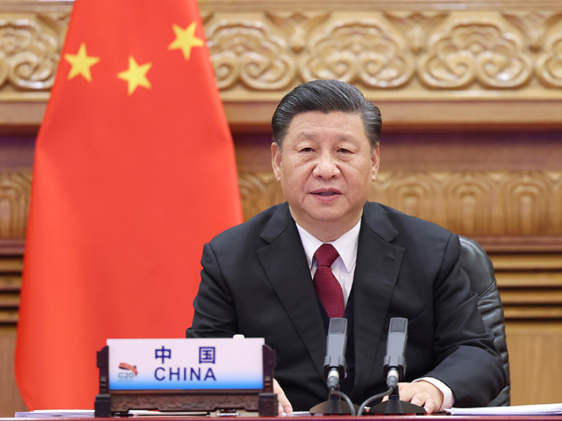 Xi expounds on sustainable development at G20 meeting