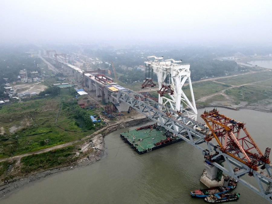 5.7 km of Bangladesh's 6 km-long Padma Bridge completed