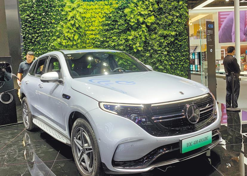 Carmakers at Guangzhou auto show bullish on 2021 outlook