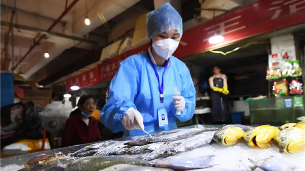 Beijing's Jingshen seafood market closed to individual consumers