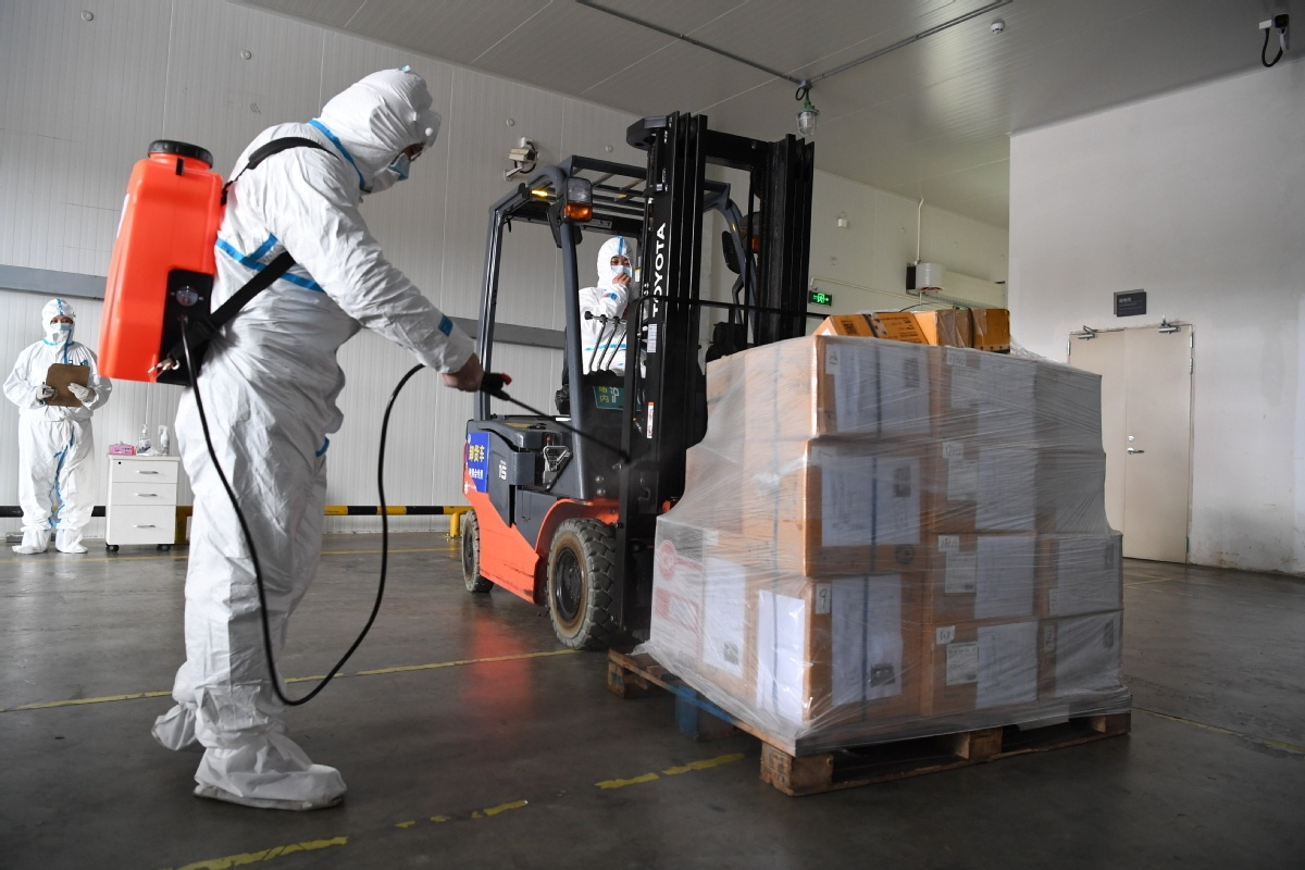 Imported cold-chain goods causing increase in infections, authorities say
