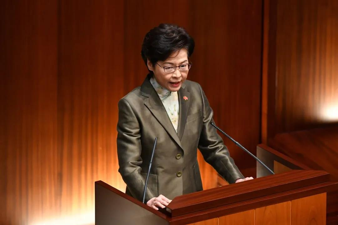 Restoring constitutional order, 'political system from chaos' is priority: Lam