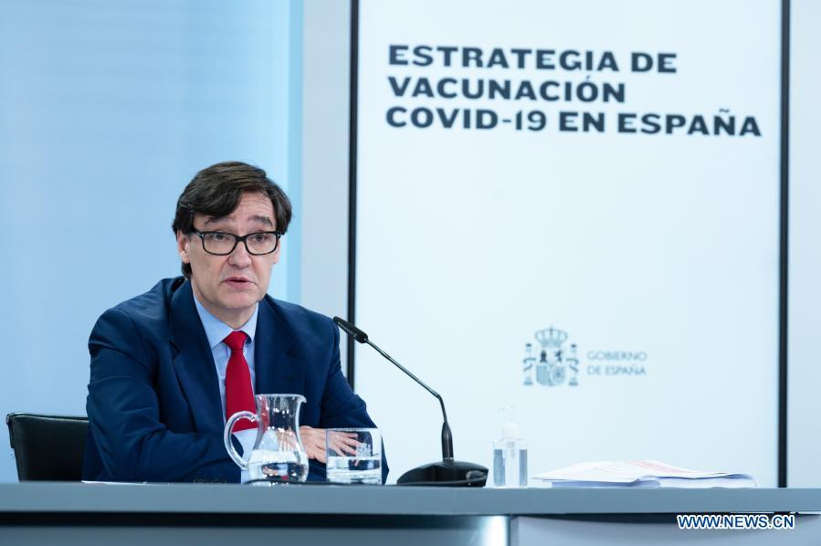 Spanish gov't outlines COVID-19 vaccination plan