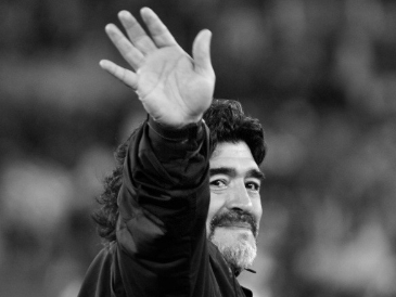 Chinese Football Association mourns the death of Argentine legend Diego Maradona