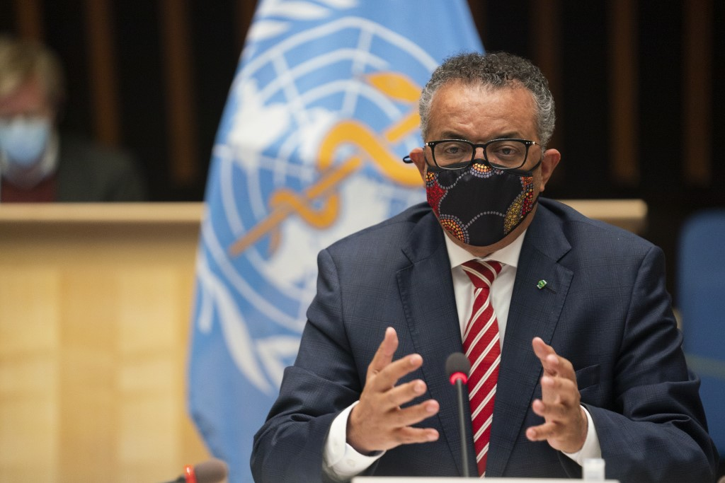 WHO chief calls for prioritization of older persons in COVID-19 vaccine distribution